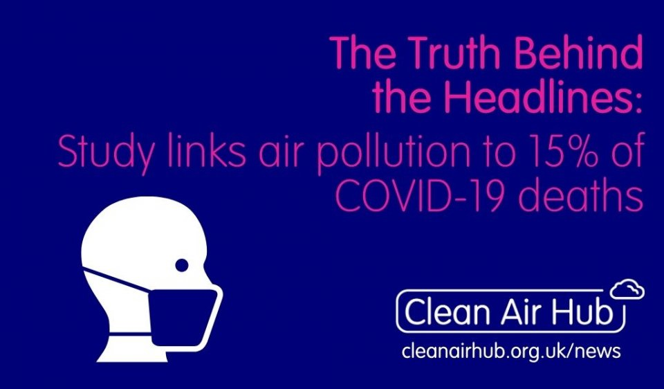 Truth Behind the Headlines: New study links air pollution to 15 percent of COVID-19 deaths