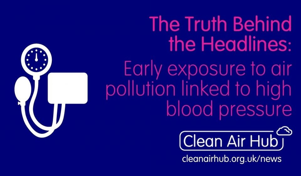 Truth Behind the Headlines: Early exposure to air pollution linked with higher blood pressure