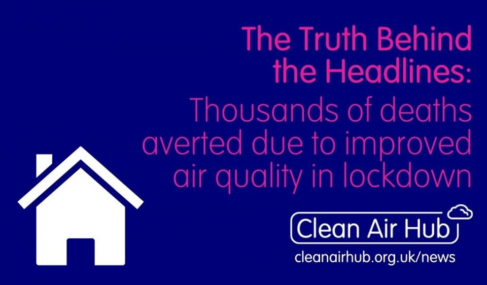Truth Behind the Headlines: Thousands of deaths averted due to improved air quality in lockdown