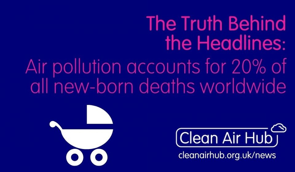 Truth Behind the Headlines: Air pollution accounts for 20% of all newborn deaths worldwide