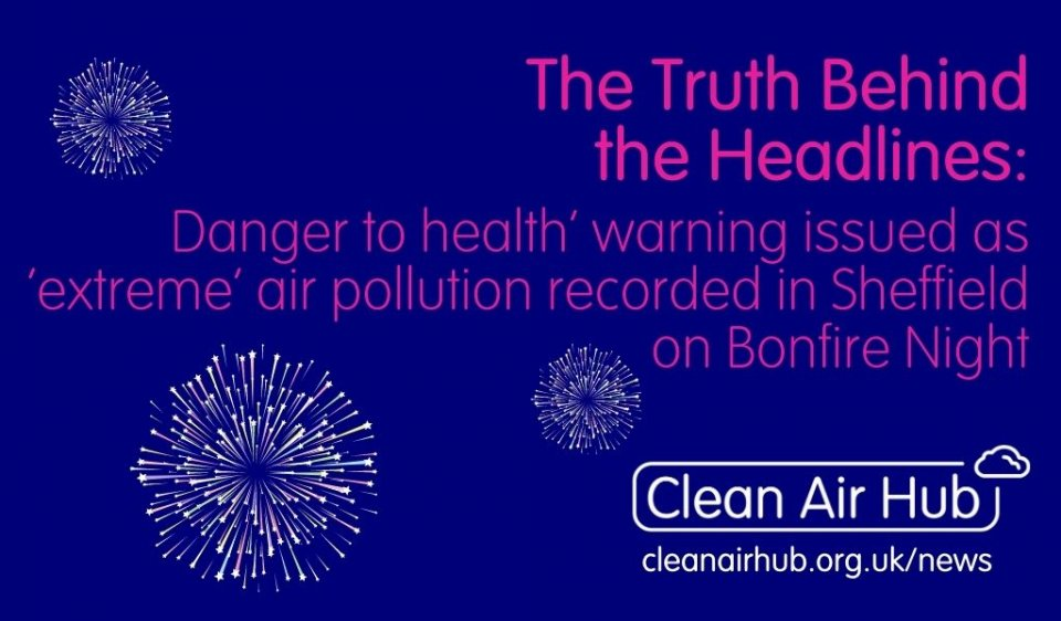 Truth Behind the Headlines: Danger to health warning issued on Bonfire Night