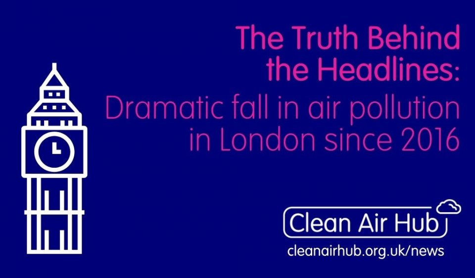 Truth Behind the Headlines: Dramatic fall in air pollution in London since 2016