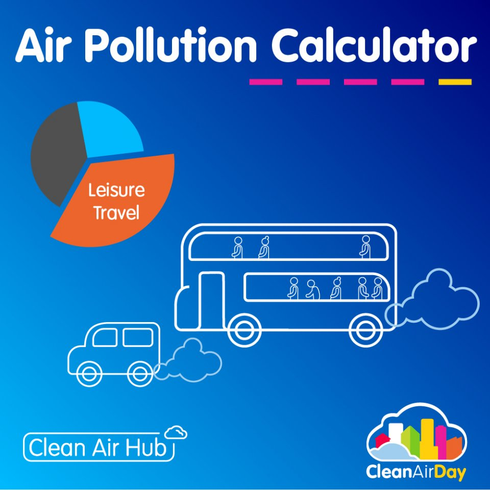 Clean Air Day charity launches the UK's first personal Air Pollution Calculator