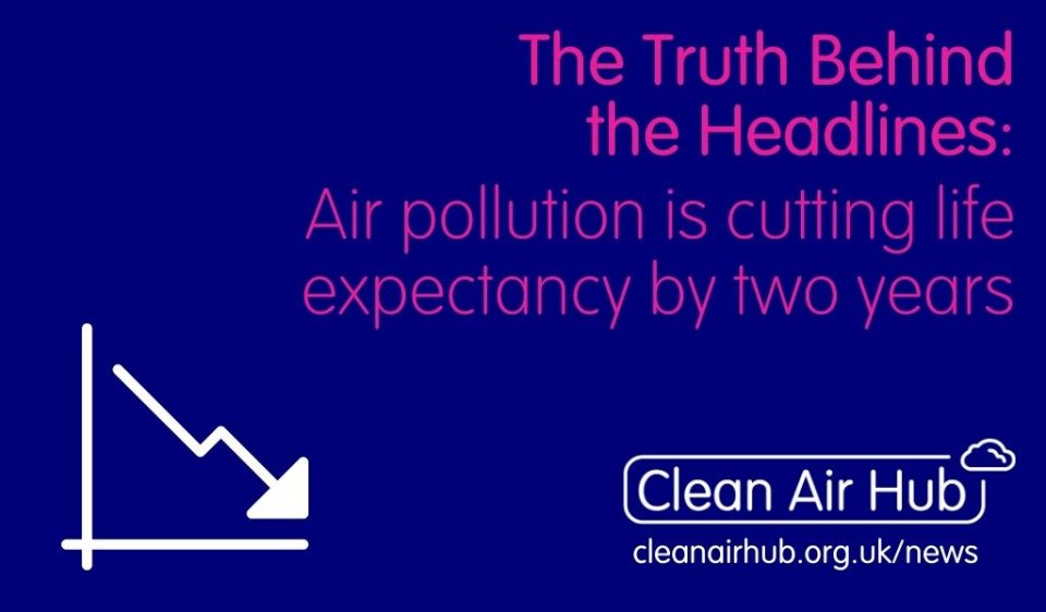 Truth Behind the Headlines: Air pollution is cutting life expectancy by two years