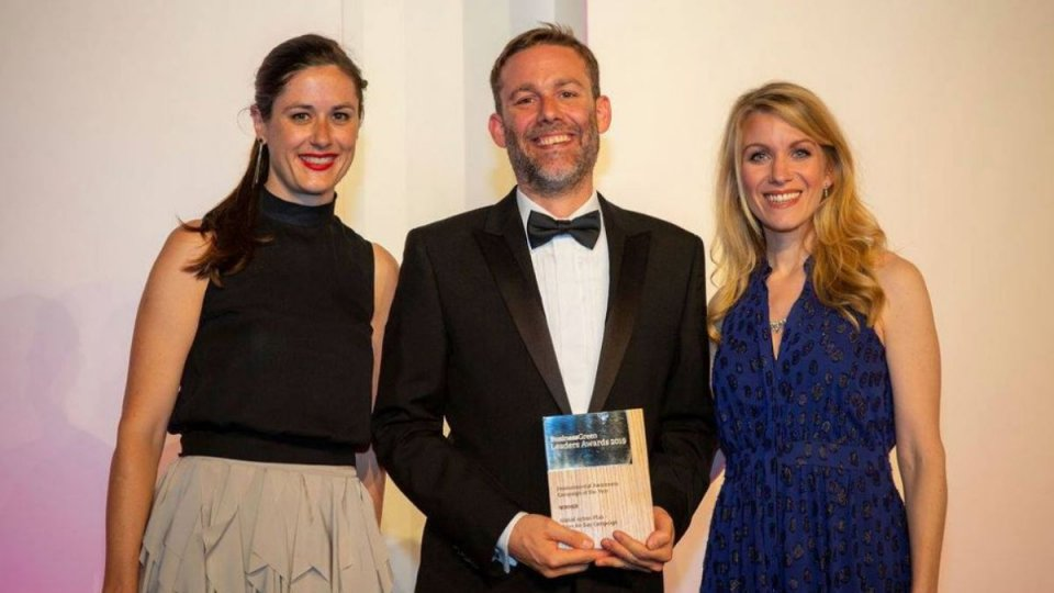 Clean Air Day is a winner at Business Green Leaders Awards