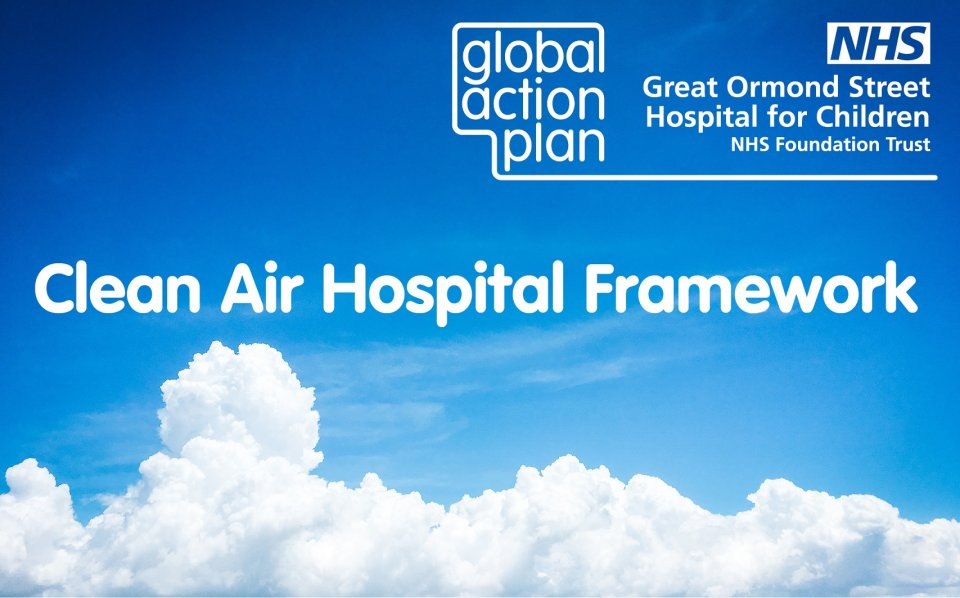 Launch of the first ever Clean Air Hospital Framework