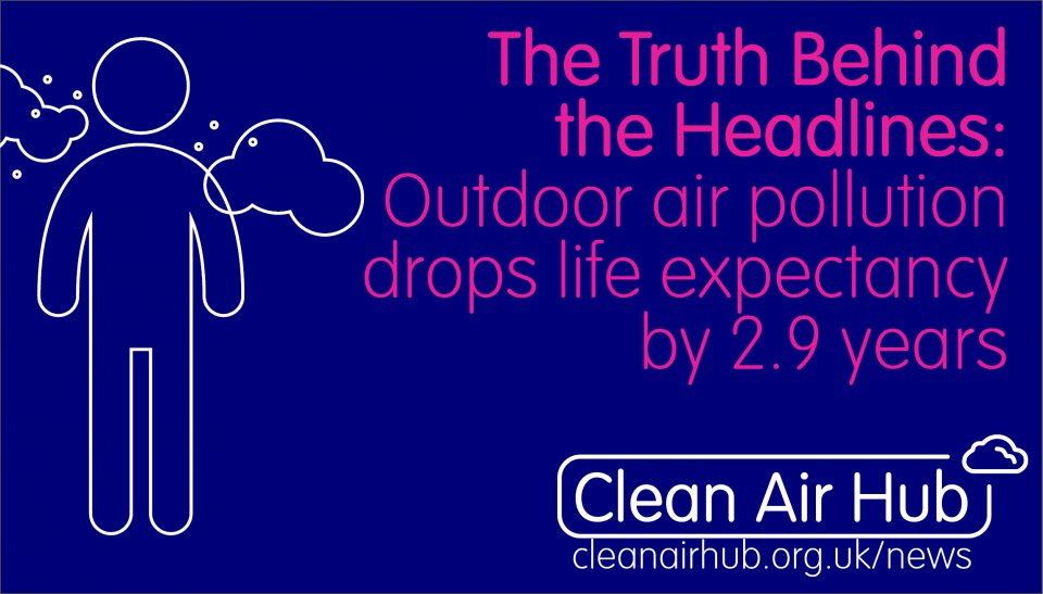 Truth Behind the Headlines: 2.9 years of life expectancy on average are lost because of outdoor air pollution