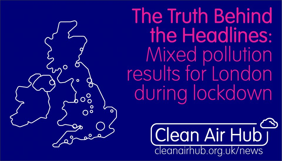 Truth Behind the Headlines: Mixed pollution results for London during lockdown