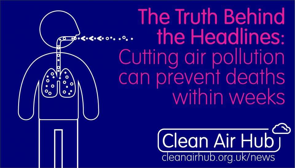 Truth Behind the Headlines: Cutting air pollution can prevent deaths within weeks