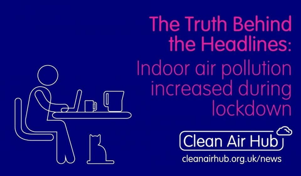 Truth Behind the Headlines: Indoor air pollution increased during lockdown